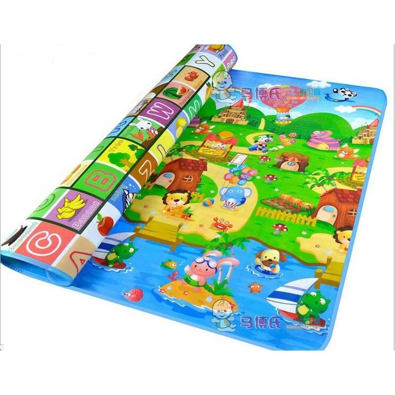 Non-Toxic Child Infant Baby Kids Crawling Game Waterproof Floor Play Mat EVA