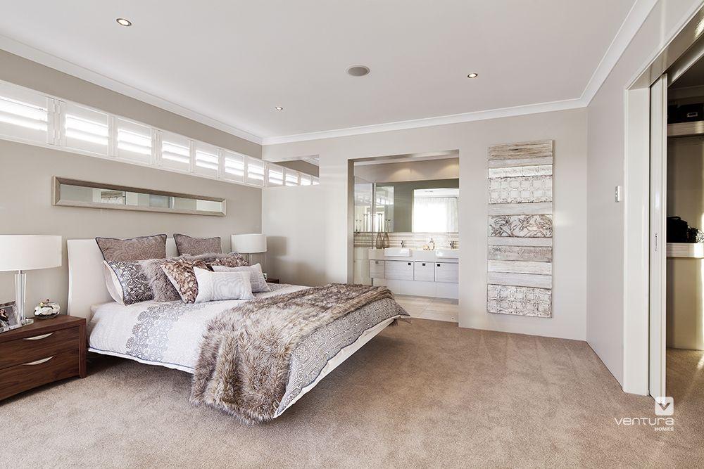 Master bedroom & ensuite design in \'The Indulgence\' display ...