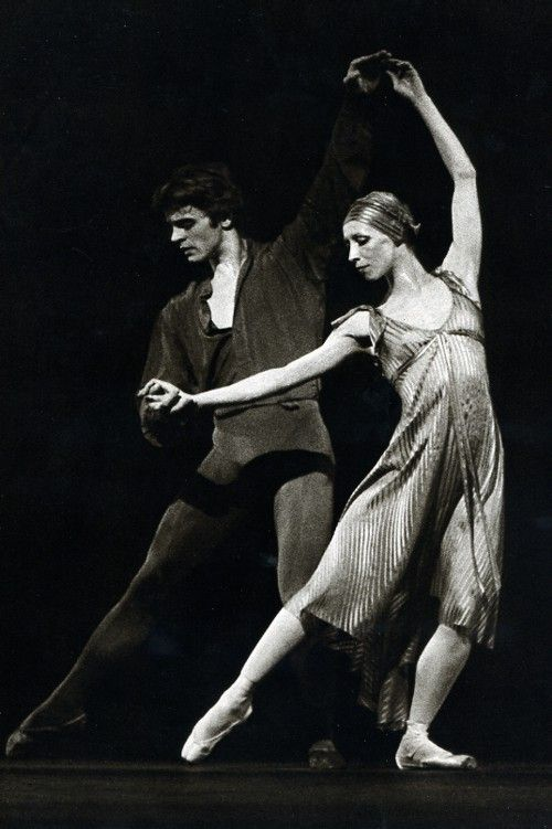 Natalia Makarova & Mikhail Baryshnikov in  'Other Dances' (choreographer Jerome Robbins), 1976