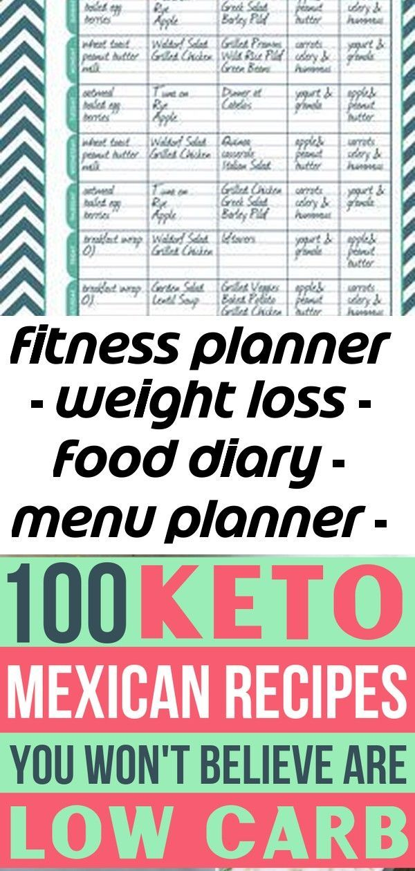 #diary #Fitness #food #kit #letter #log #loss #menu #planner #printables #weight #workout Fitness Pl...