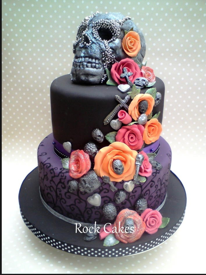 12 Amazing Skull Cakes Which One Is Your Favorite Cake Rock
