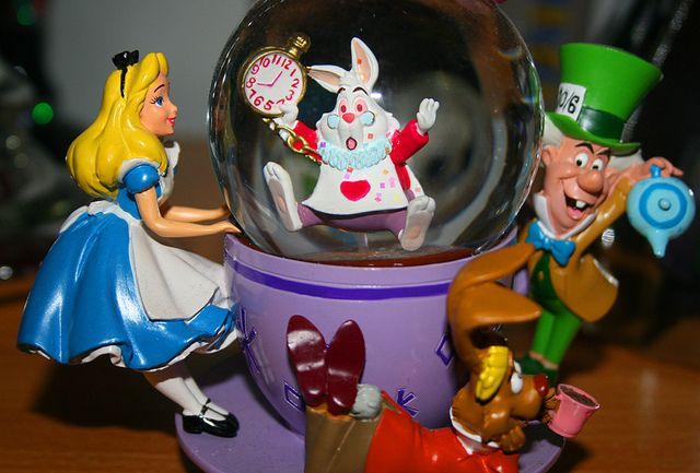 Alice in wonderland snow globe alice alice in wonderland snow globe recent photos the commons getty collection galleries world map app gumiabroncs Choice Image
