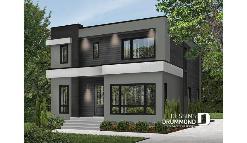 Plan De Maison Unifamiliale Essex 3 No 3883 V2 Idée Plan