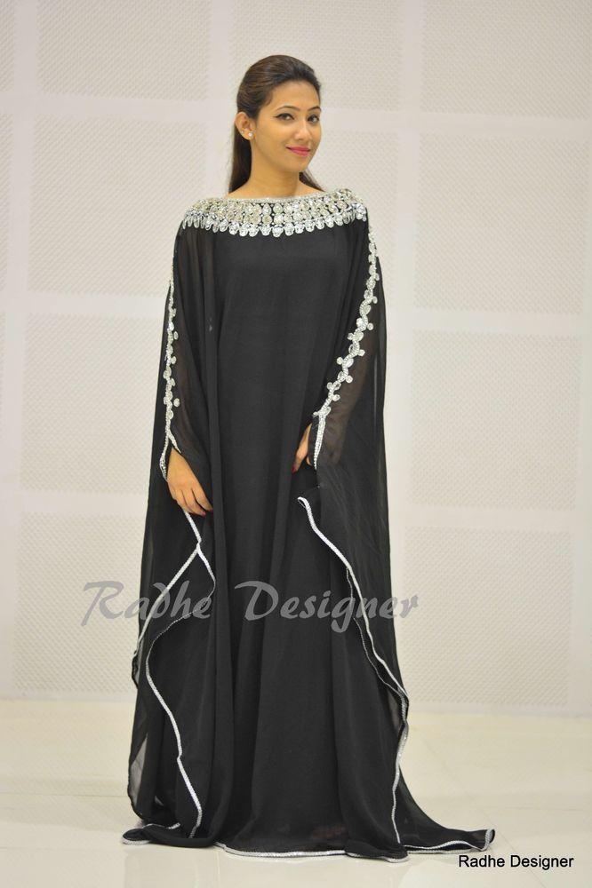 NEW DUBAI KAFTAN ABAYA JALABIYA JILBAB ISLAMIC ARABIAN CLOTH FOR WOMEN   POLEFASHION  kaftan  Formal b9644bb4455d