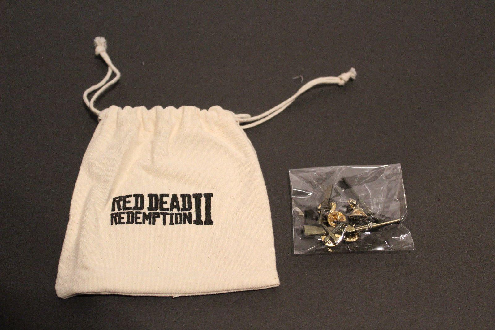 Details About Red Dead Redemption 2 Collectors Edition Canvas Bag