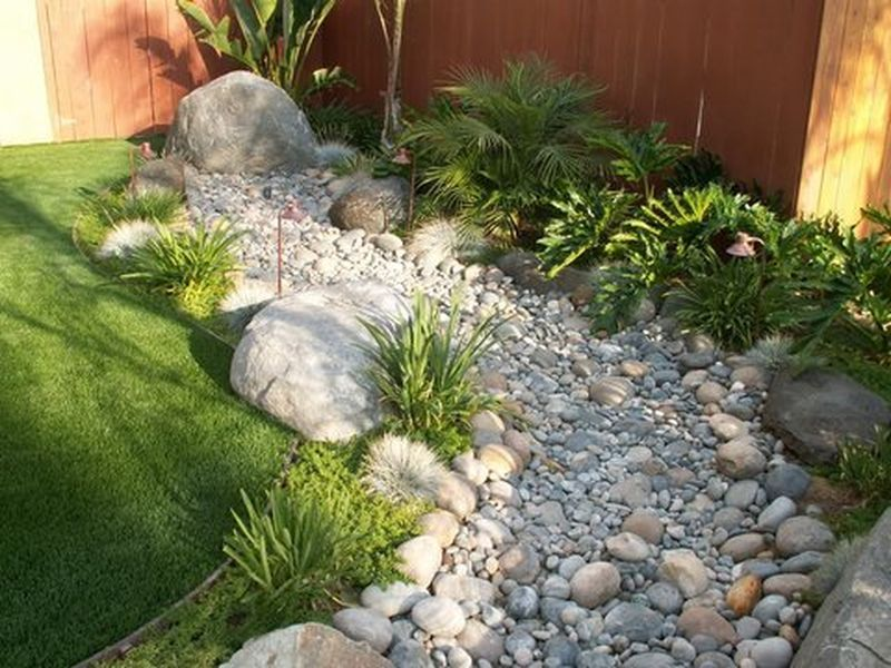 75 Gorgeous Dry River Creek Bed Design Ideas On Budget 1 Dry Creek Bed Landscaping With Rocks Dry Creek
