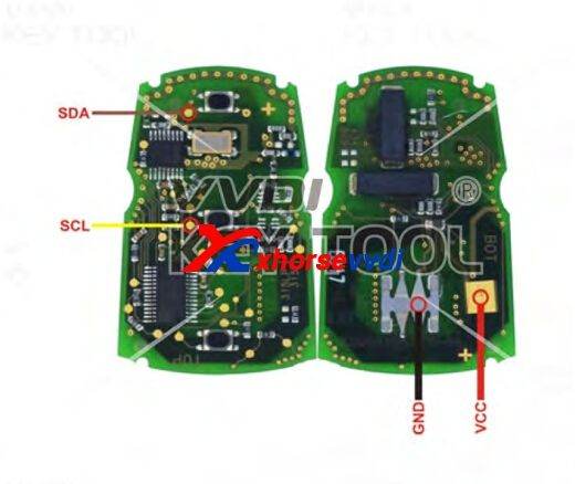 Vvdi Key Tool Remote Unlock Wiring Diagram Audi Bmw Type With