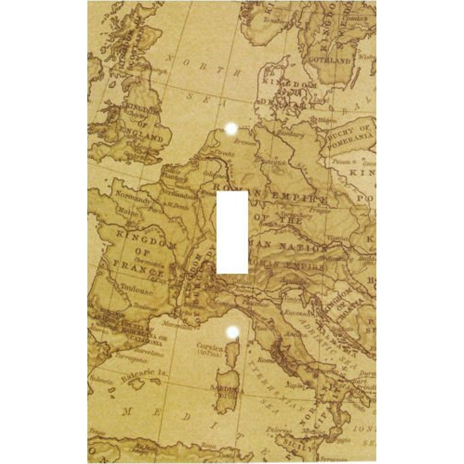 Old World Maps Decorative Switchplate Cover >>> Click image to ...