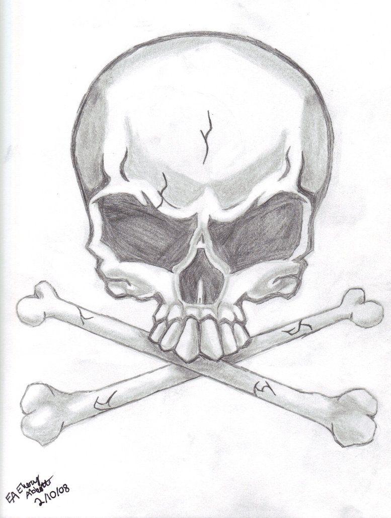 Simple skull tattoo designs - Tattoos Designs Drawings Skull Tattoo Design By Genesis19 On Deviantart