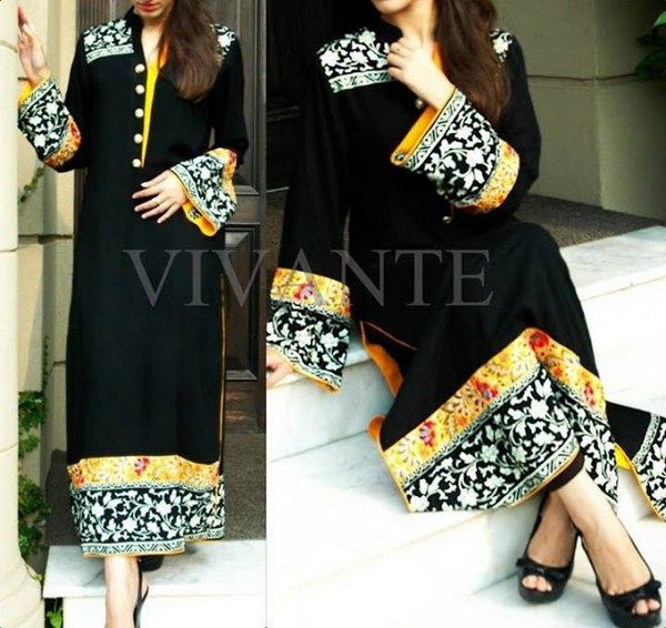 Excellent Black Party Wear Dresses For Girls Latest Designs