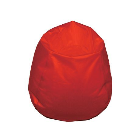 Tremendous Boscoman Youth Size Round Beanbag Chair Red In 2019 Squirreltailoven Fun Painted Chair Ideas Images Squirreltailovenorg