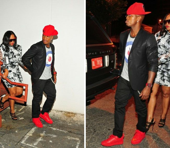 Ne Yo Wearing Kanye West X Louis Vuitton Don Celebrity Sneakers Menswear How To Wear