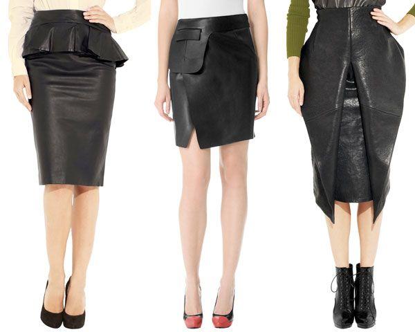 Designer leather pencil skirt – Modern skirts blog for you