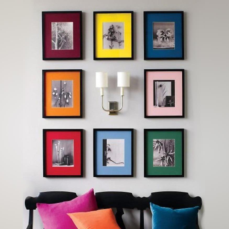 Cuadros marcos varios colores   Enmarcaciones   Pinterest   Marcos ...