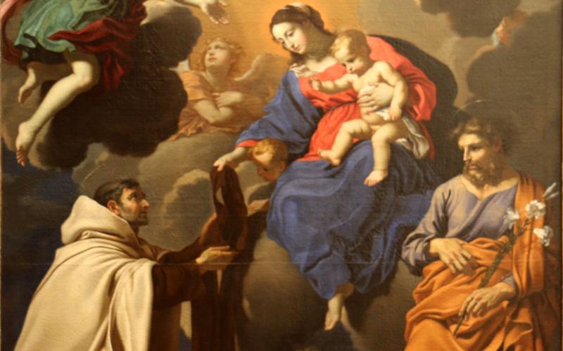 7 santos que usaron y recomendaron el escapulario de Nuestra Señora del Carmen