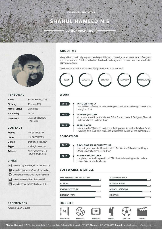Infographic Resume 27 Infographic Resume Ideas For Examples Infographic Resume In 2020 Infographic Resume Architecture Resume Architect Resume