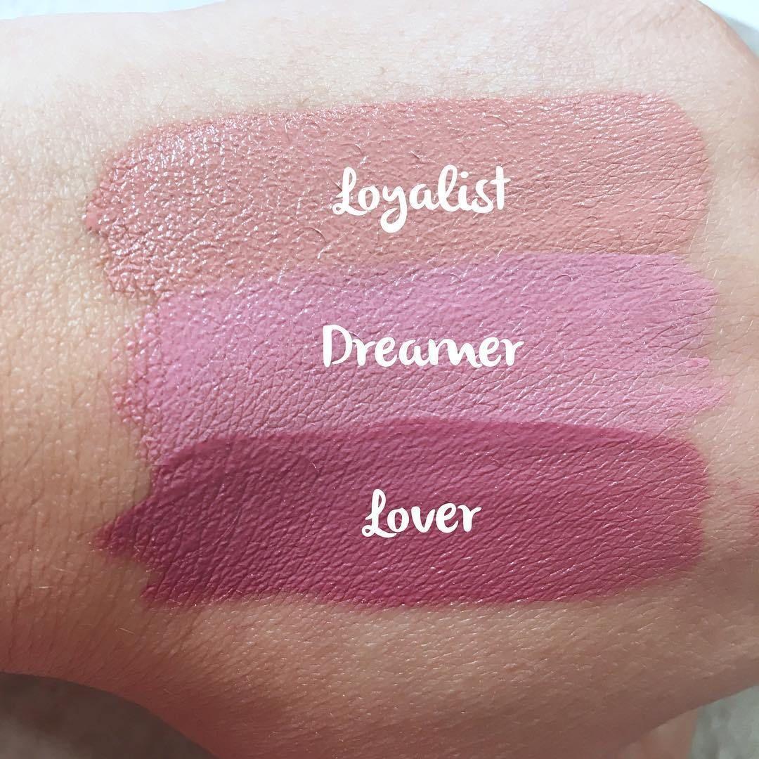 Swatches Maybelline Superstay Matte Ink Liquid Lipsticks