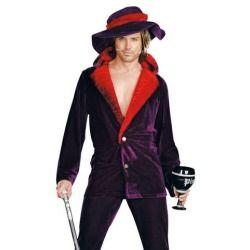 Sexy Mens Gangsta Pimp Halloween Costume  sc 1 st  Pinterest : target mens halloween costumes  - Germanpascual.Com
