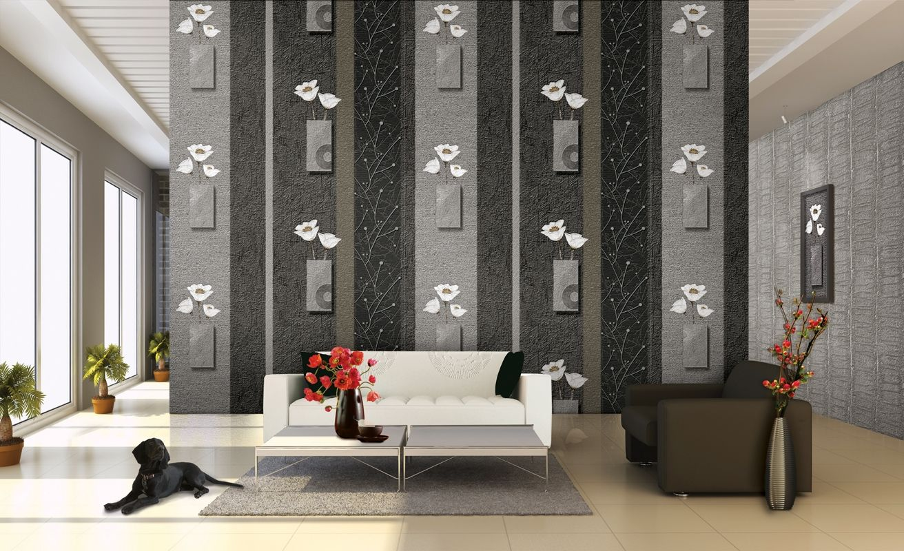 Картинки по запросу крутой дизайн стен обоями (с ...