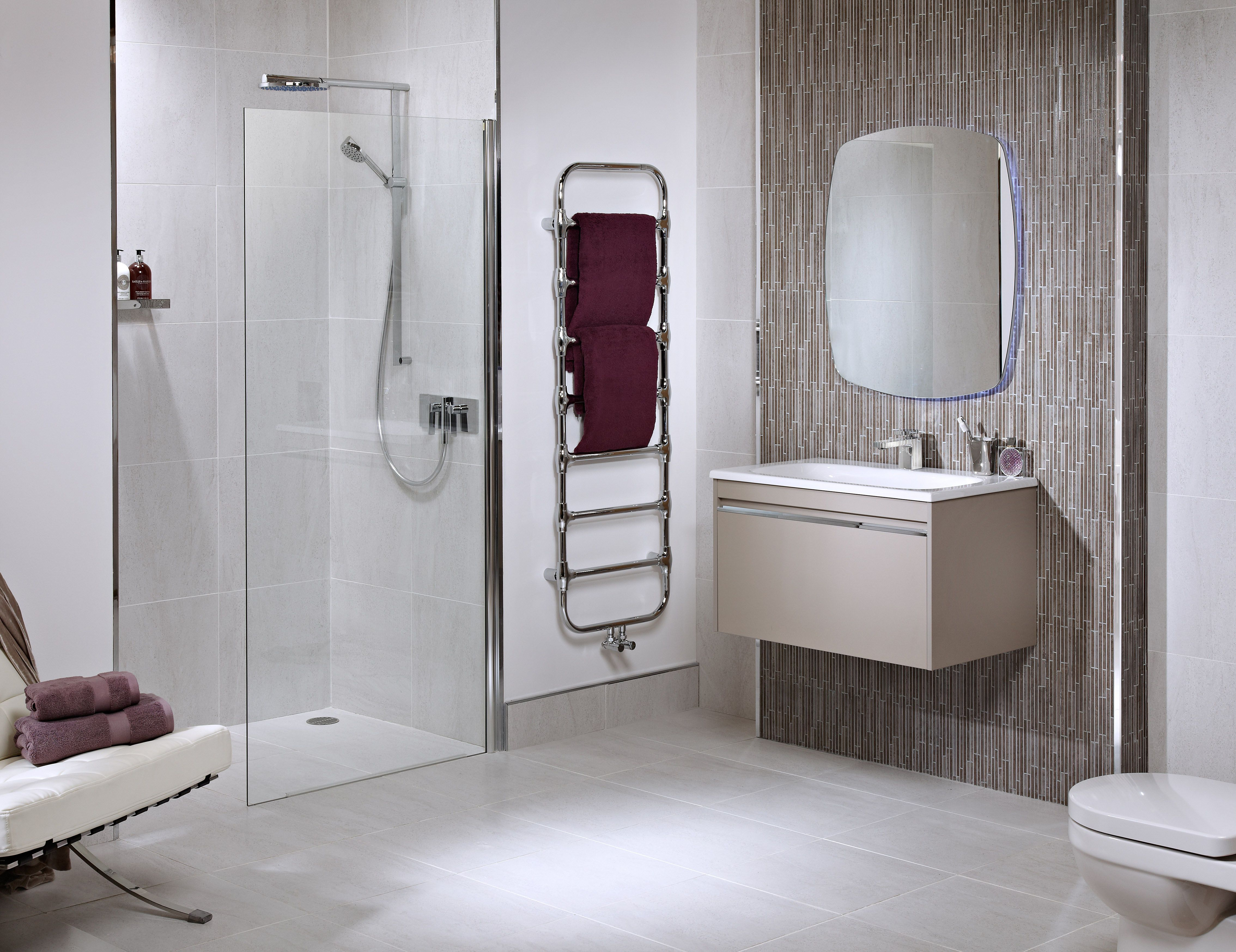 Small Wet Room Bathroom Design #AccessibleBathrooms >> Learn more at http://