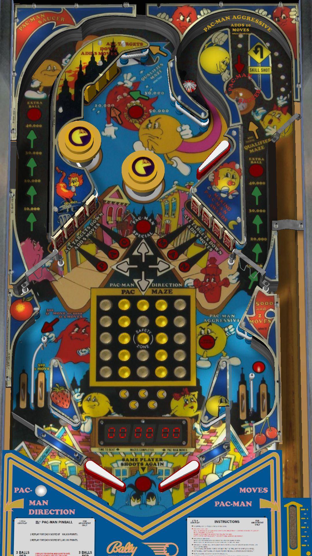 pacman pinball game Google Search Pinball, Pacman