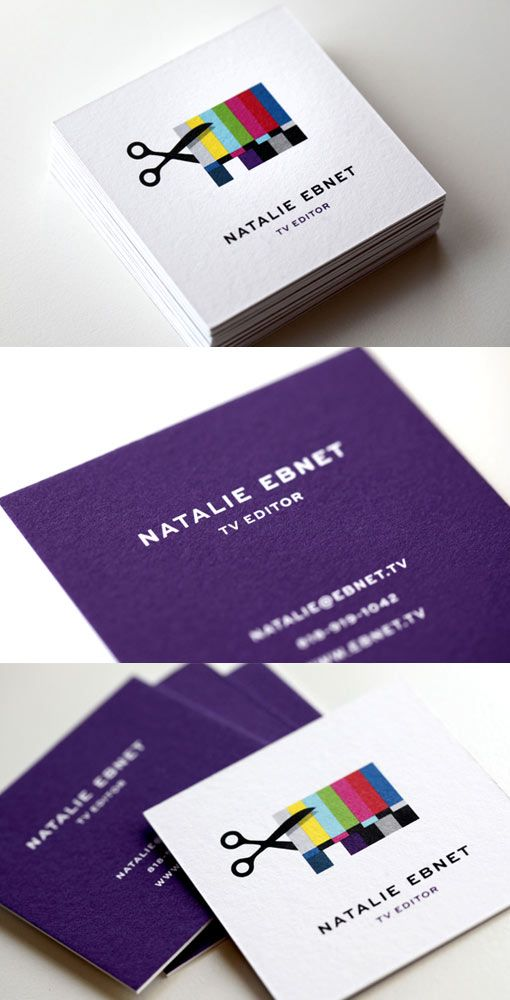 Business Card Inspiration | Identity design, Business cards and TVs