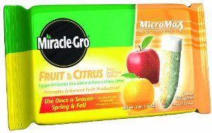 Miracle Gro 100396 Fruit And Citrus Tree Fertilizer Spikes 12 Pack By