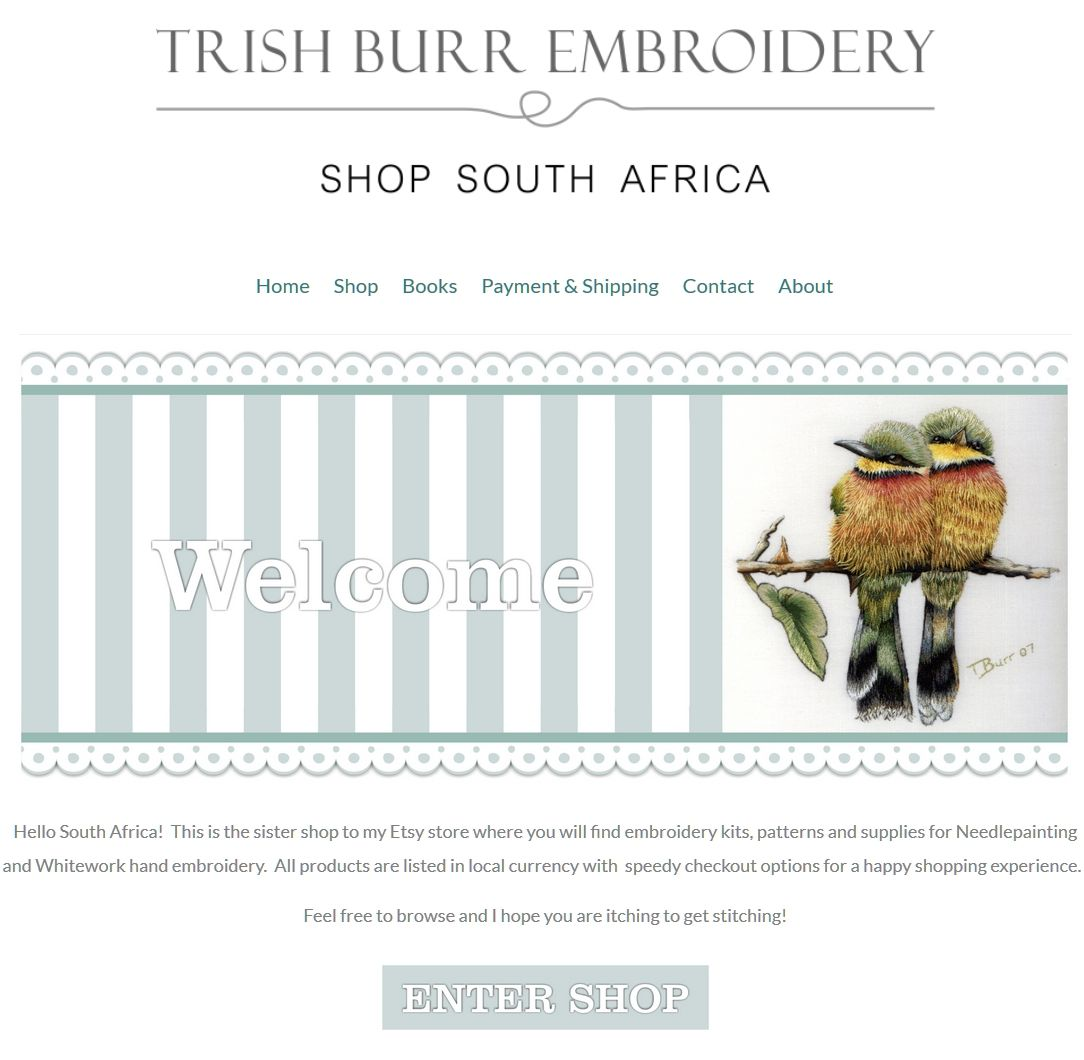 Hello everyone This week I am thrilled to announce that on 1st January 2016 the new South African online shop will be opening.  No more emailing me for prices, and banking details you will now be a…