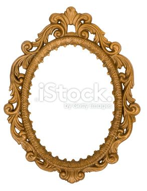 e9d53a794d8a Beautiful ornate vintage oval frame painted gold. Restored but still ...