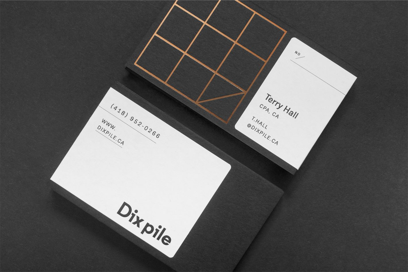 Dix pile - Branding | Tarjetas visita | Pinterest | Branding design ...