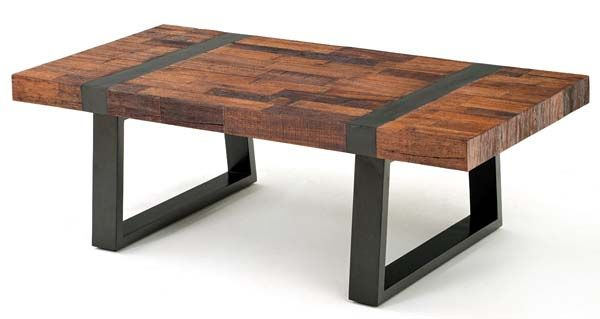 Urban Rustic Collection Coffee Table Design Reclaimed Wood