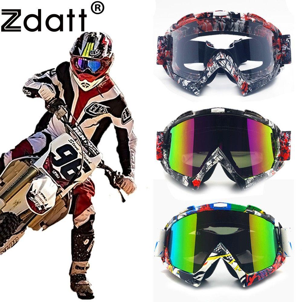 Promo Zdatt Professional Adult Motocross Goggles Fox Racing Mx