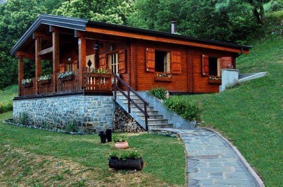 Proiect Casa Din Lemn.Proiect Casa Mica Din Lemn Si Temelie De Piatra Case Case Case