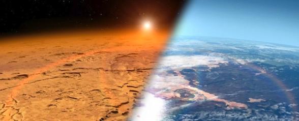 La atmósfera de Marte fue arrasada por vientos solares