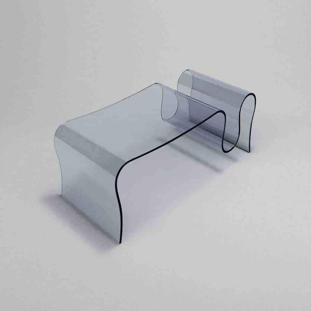 Goccia Curved Glass Coffee Table Klarity Glass Furniture Glass Coffee Table Glass Furniture Curved Glass [ 1029 x 1029 Pixel ]