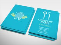dentist business card - Google Search | Dent | Pinterest | Dental ...