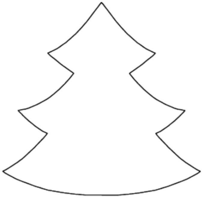Arbol de navidad para colorear e imprimir dibujos de - Arbol de navidad para colorear ...