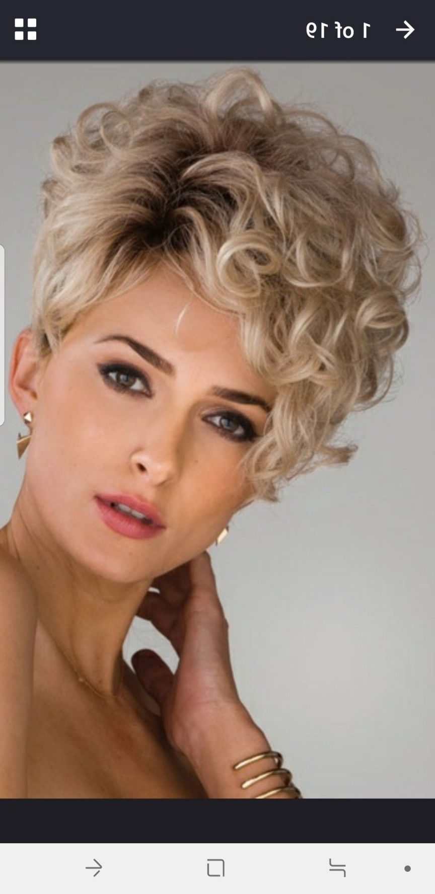 Fresh Frisuren Graue Haare Locken Hair Styles Short Curly Haircuts Short Hair Styles