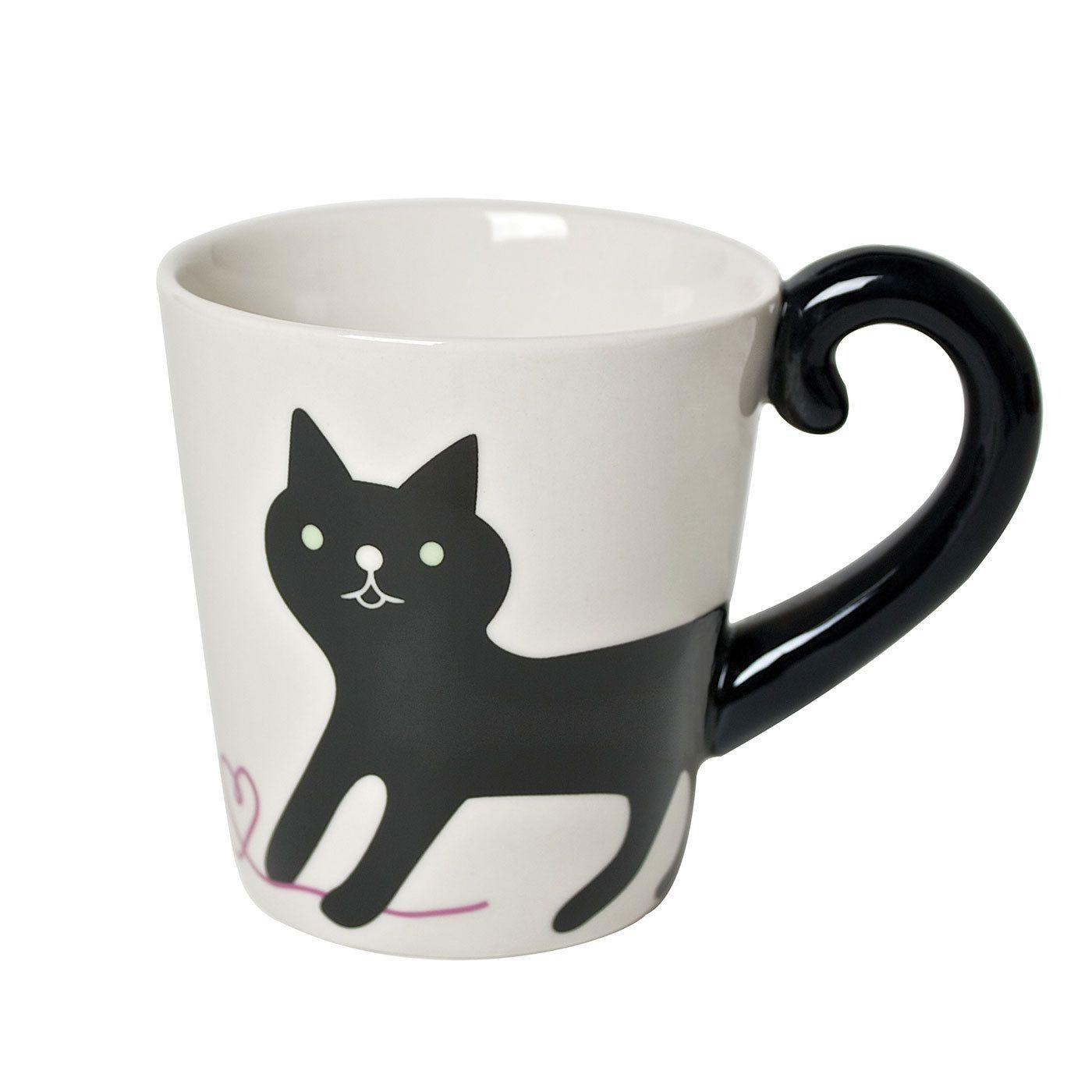 Cat Tail Mug By Miya Gewoon Leuk Cats Mugs En Cat Mug