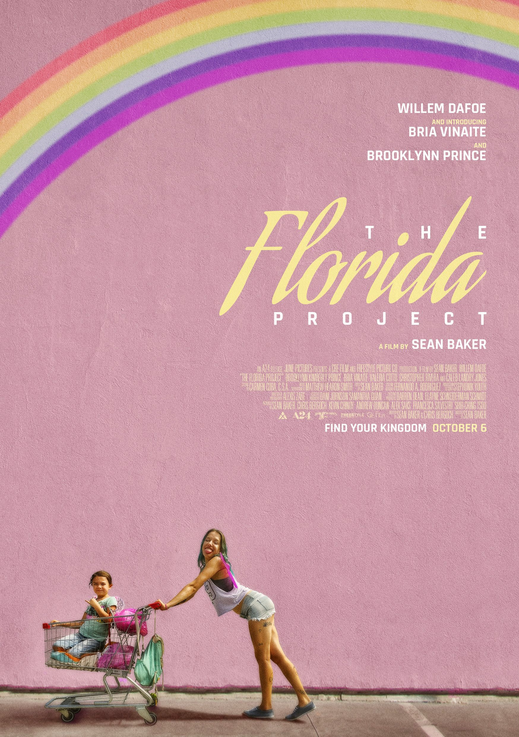 The Florida Project - Poster by Alecxps | Alternative movie posters ...