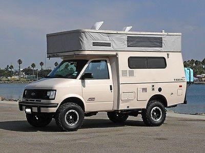 Provan Tiger Gt Custom 4x4 4wd Offroad Camper Rv Pop Up Top