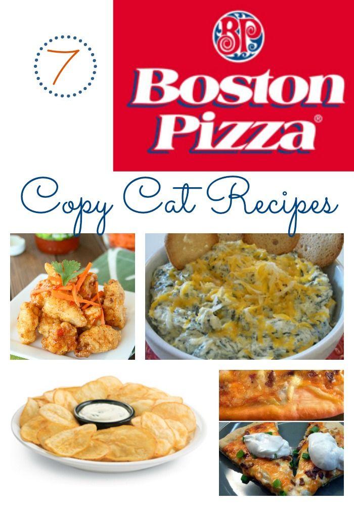 Boston Pizza Copycat Recipes Copycat Recipes Restaurant Recipes Chicken Bites Recipes