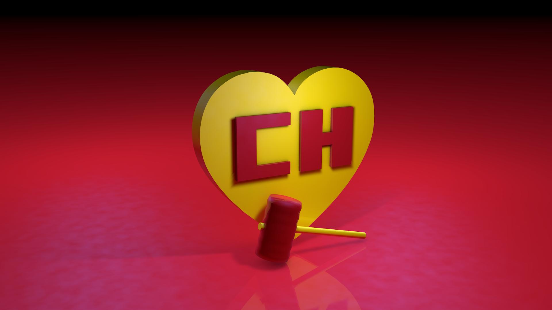 El Chapulin Colorado 3d Logo With Hammer Chapolin Colorado Molduras Gratis
