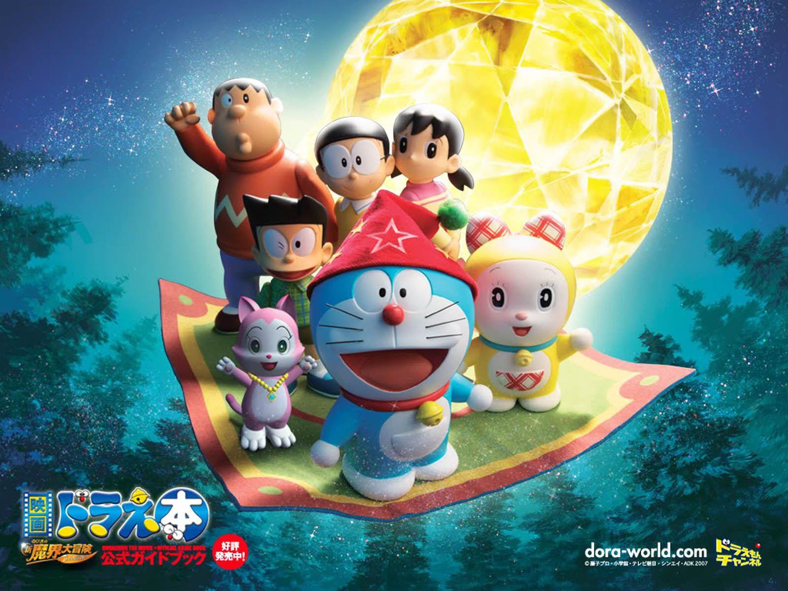 Doraemon wallpaper images 3d