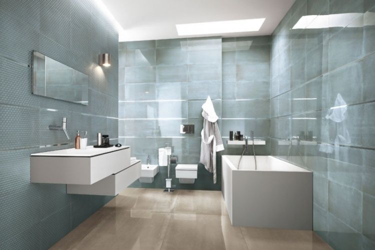 Faïence salle de bains u2013 88 des plus beaux carrelages design venant - photo faience salle de bain
