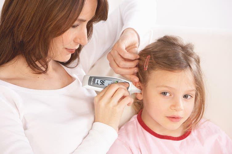 مقياس الحرارة بيورير Beurer وشرح طريقة استخدام مقياس الحراره Beurer Digital Thermometer Temperature Alarm Thermometer