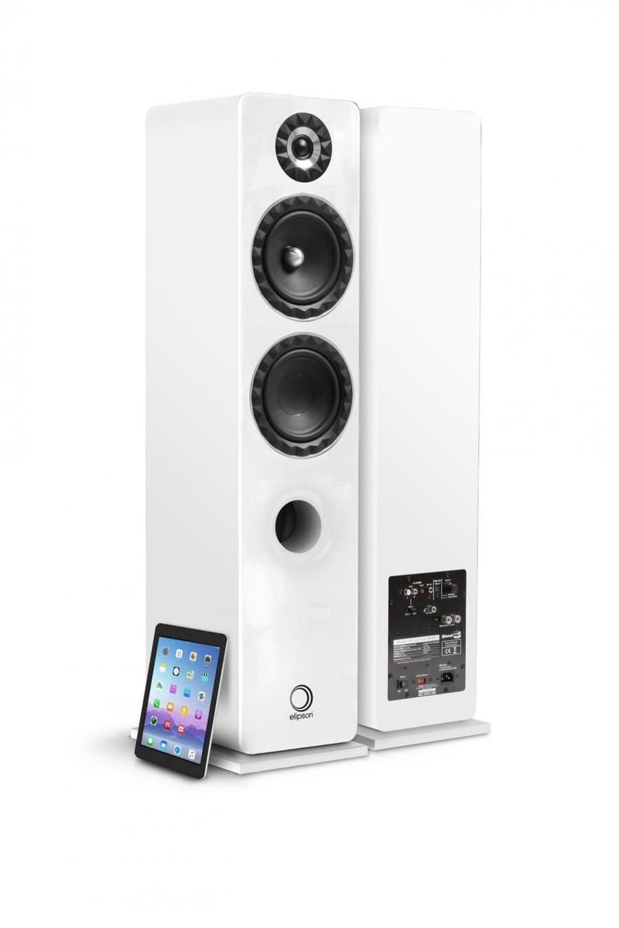 Elipson Wireless Facet Speakers Speaker Wireless Hifi