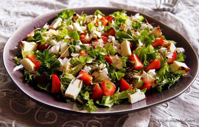 Viljattoman Vallaton: Keväinen salaatti