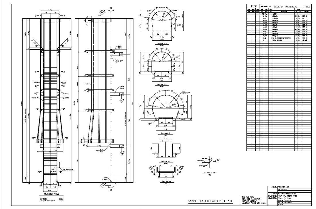 Ladder Cage  Car Interior Design
