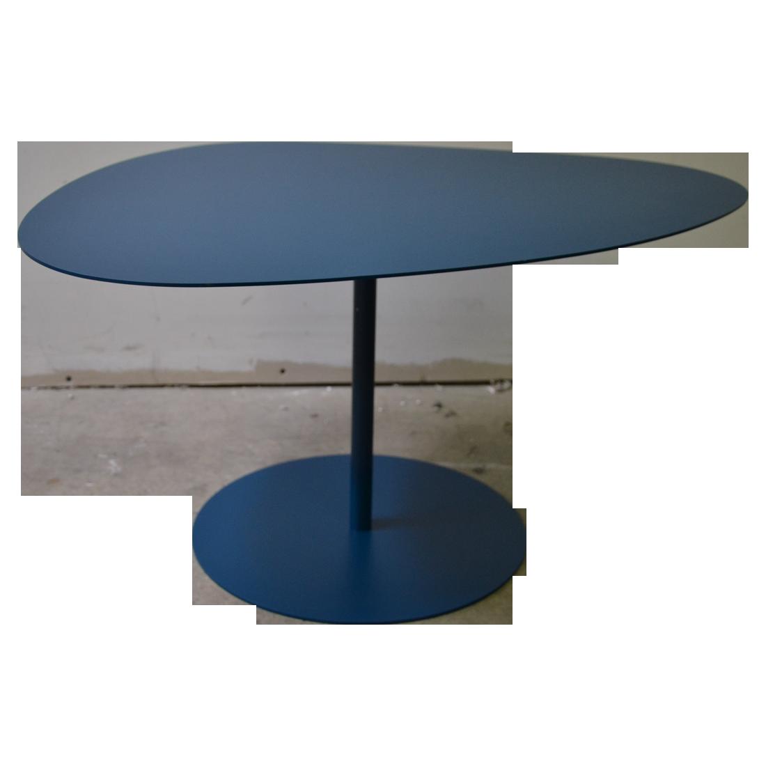 Table Basse Galet Par Luc Jozancy Pour Matiere Grise Table Basse Galet Table Basse Couleur Bleu Canard